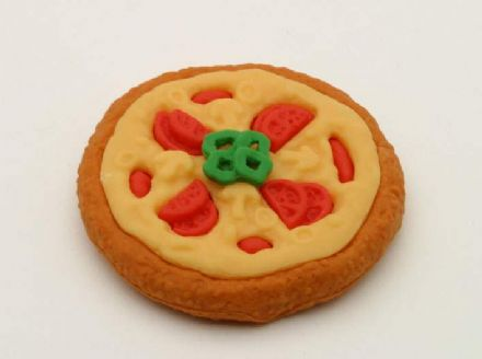 IWAKO NOVELTY ERASERS / RUBBERS - Pizza